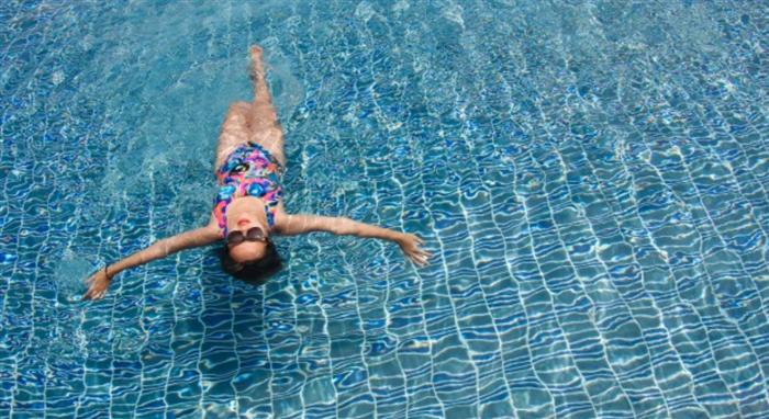 有酸素運動の側面がほとんどな水泳