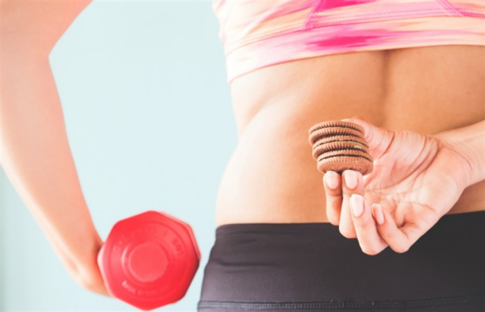 体脂肪を減らしたい女性