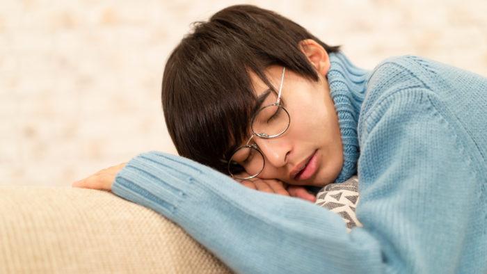 可愛い寝顔、いつまでも隣で眺めていたいな。