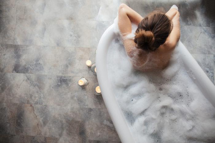 半身浴の効果